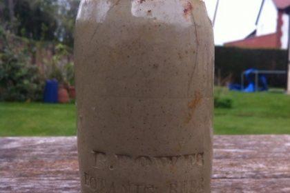 victorian bottle